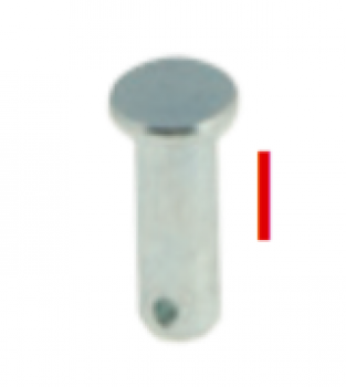 I - Pin 6 x 18 mm (1 Loch)